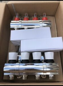 underfloor heating manifold 4 port