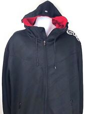 Ecko Unltd Defined by Design Mens XL Black Red Sweatshirt Hoodie