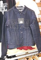 KR3W Jacket Dylan Blue Denim Krew Mens Skateboard wear