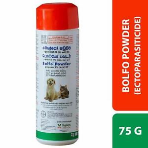 Anti ticks Powder best for ticks & flea on body, Ear, Face, legs Dogs Cats Pets