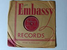 BENNY LEE  Stars shine in your eyes / Hernando's hideaway 78 rpm EMBASSY WB. 152