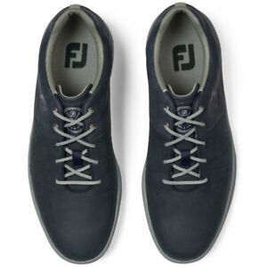 FootJoy Contour Casual Herren Golfschuh -navy+ charcoal+ braun - im Summer Sale