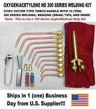 VICTOR TYPE HEAVY DUTY 300 SERIES (315FC Type) Oxy/Acetylene Welding Torch Kit