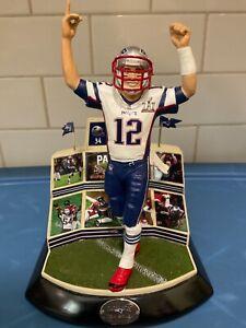 Hawthorne Village  -  New England Patriots Tom Brady ........ Not Danbury Mint