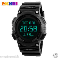 Imported Original SKMEI 1248 black  Digital LED Men's Wrist watch
