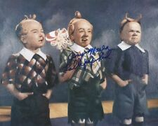 Jerry Maren Wizard of Oz Lollipop Kid autographed 8x10 photo with COA by CHA