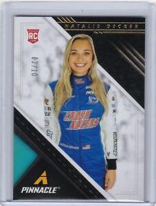 2021 Chronicles Racing Pinnacle Gold #15 Natalie Decker - Rookie 02/10