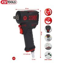 "KS Tools 515.1270 1/2"" Clé à chocs pneumatique mini MONSTER 1.390 Nm"