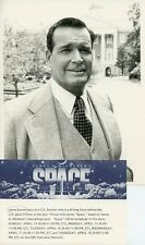 JAMES GARNER SMILING PORTRAIT SPACE ORIGINAL 1985 CBS TV PHOTO