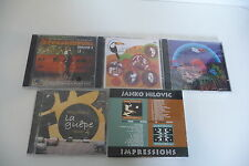 LOT CD RARE GROOVE JANKO NILOVIC CANDEIAS AFROJAZZFUNK BEN &THE PLATANO GROUP.