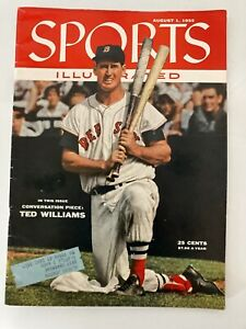 Ted Williams, Boston Red Sox, 8/1/1955 Sports Illustrated Magazine.