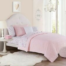 Chloe Twin Duvet Cover Set in Pink
