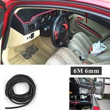 6m Flexible O Type Car Door Edge Dustproof Soundproof Rubber Seal Sealing Strips