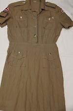 Canadian Womens Army Corps CWAC Sergeant Summer Dress Uniform