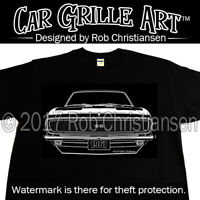 Car Grille Art™ Teeshirt, T Shirt, 67 1967 Camaro RS SS