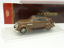 Rextoys 1/43 - Chrysler Airflow Touring 1935 Brown