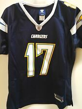Reebok Women's Premier NFL Jersey San Diego Chargers Philip Rivers Navy sz M