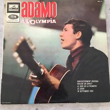 "ADAMO: A L'Olympia 1965 (FR LVDSM RCLP 10 / Mono / 10"")"