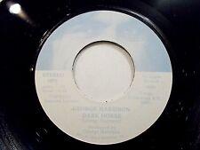 George Harrison Dark Horse / I Don't Care Anymore 45 1974 Apple Vinyl Record
