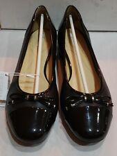 Geox Women's Wistrey 1 Ballet Flats, Black, size 9 M (39 EU)