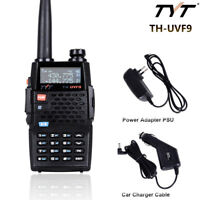 TYT TH-UVF9 Dual Band VHF UHF Walkie Talkie Ham 2-Way FM Radio With Car Charger