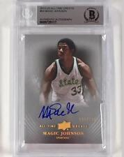 UD All Time Greats MAGIC JOHNSON Autograph Signed card /150 Beckett BGS 10 Auto