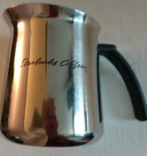 STARBUCKS COFFEE Milk Frothing Pitcher 18-8 Stainless Steel Barista Cup
