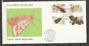 TUVALU, 1981 Insekten 587-81 FDC, (27939)