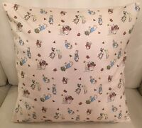 Beatrix Potter Envelope Cushion Cover 16x16 Inch, Peter Rabbit, Baby Nursery
