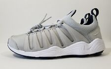 Nike Air Zoom Spirimic Running Shoes Grey White Mens Size 11 ( 881983-002 )