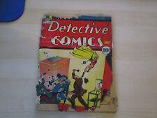 1940 DETECTIVE COMICS #39 BATMAN STORY COMPLETE! 2ND ROBIN BATMAN #1 AD CLAYFACE