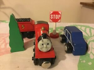 James Wooden Train and accessories BRIO / elc compatible