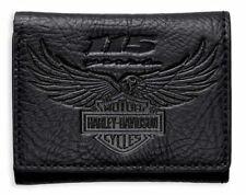 Harley-Davidson™ Men's 115th Anniversary Tri-Fold Wallet NEW