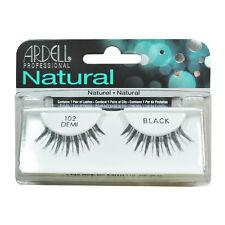 2 Pairs x Ardell Natural Lashes #102 False Eyelashes Fake Lash Eyelash Black
