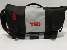 "Timbuk2 Commute 19.7""x12.8""x5.9"" Messenger Bags - Black Gray TED logo"