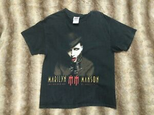 Marilyn Manson The Golden Age Of Grotesque 2003 Tour Shirt L