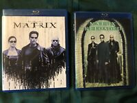 ✳️ THE MATRIX + MATRIX RELOADED ❤️ 2 BLU-RAY SET ❤️ No Digital Copy