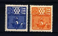 ST. PIERRE AND MIQUELON - 1947 - Segnatasse.