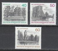 West Berlin 1978 MNH Mi 578-580 Sc 422-424 Views Bridge Church **