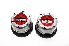 AVM High Performance Manual Free Wheel Hubs Pair 455HP -> TOYOTA LAND CRUISER