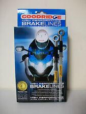 Goodridge Braided Brake Lines TSU1300-1RDR Suzuki GSX1300RX-RZK 99-05 Rear (EE)