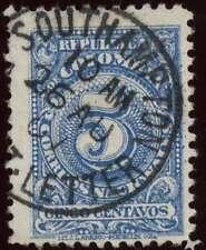 Marítima 1907 Colombia 5c Excelente Southampton Paquete Ltr