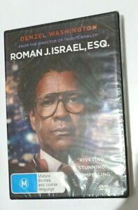 Roman J. Israel, Esq. ~ R4 DVD ~ Denzel Washington ~ New & Sealed!