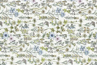 Lecien memoire a paris Quilting Cotton white 82081610 fabric