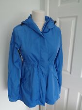 BNWT HUNTER Original  Blue Smock Water Resistant & Packable Jacket size XS