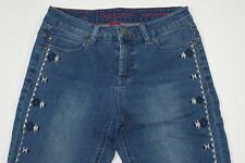 LIVERPOOL JEANS COMPANY Penny Ankle Skinny Navajo Embellished Jeans Size 2/26