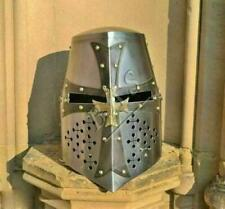 Crusader Knight Templar Sugar Loaf Armour's Helmet- Medieval Wearable Helmet