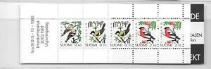 Finland - 1991 - 5m Birds folded booklet  - unmounted mint