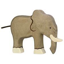 Elefant 18 cm Holzfiguren Serie Wildtiere Holztiger 80147