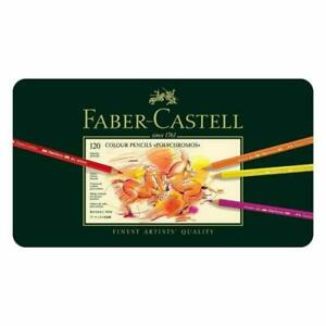 Faber-Castell Polychromos Artists' Color Pencils - Tin of 120 Colors